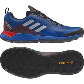 adidas TERREX CMTK Buty Mężczyźni, blue beauty/grey one/active red